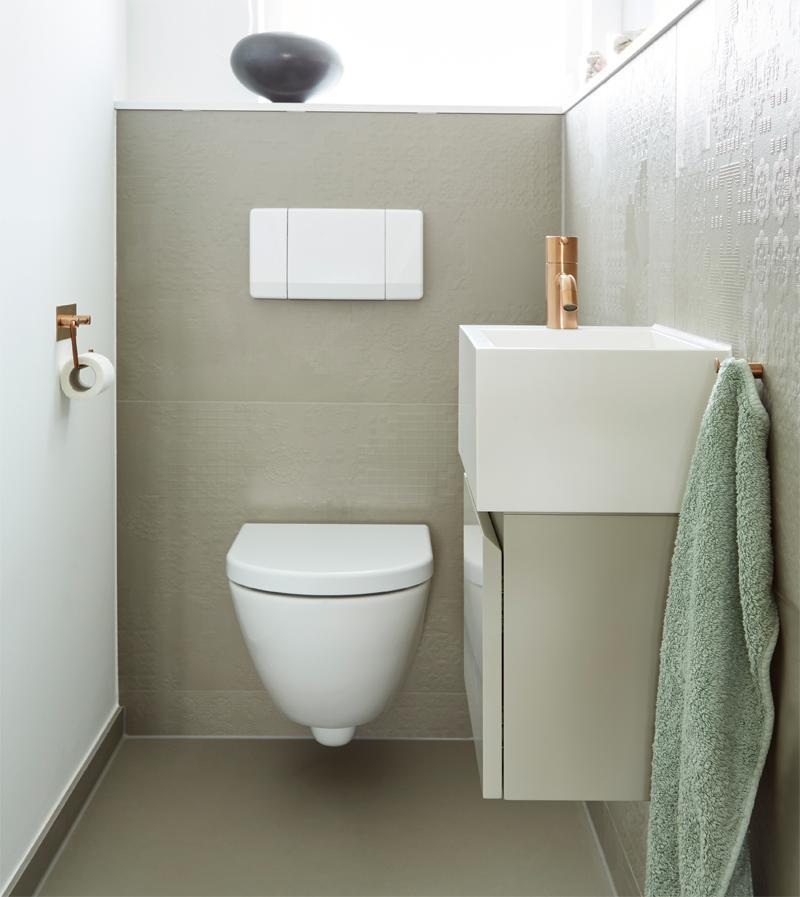 Trendiges Gäste-WC | Frick Badezimmer | Ulm