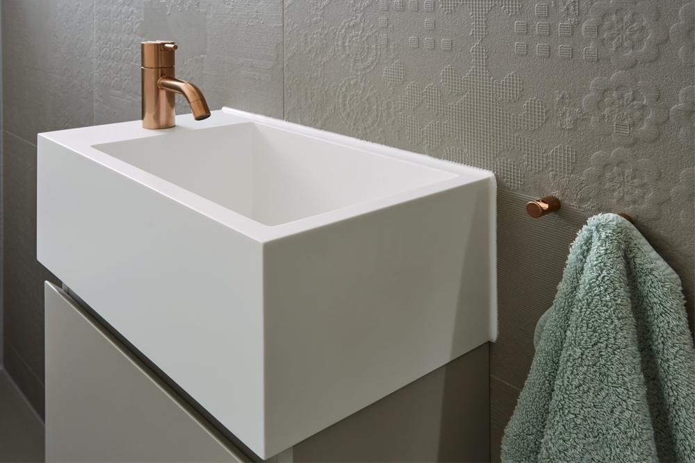 Trendiges Gäste-WC | Frick Badezimmer | Ulm | Badrenovierung ...